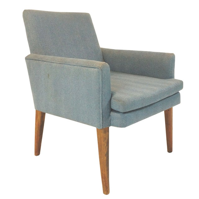 Vintage Mid-Century Danish Style Arm Chair For Sale