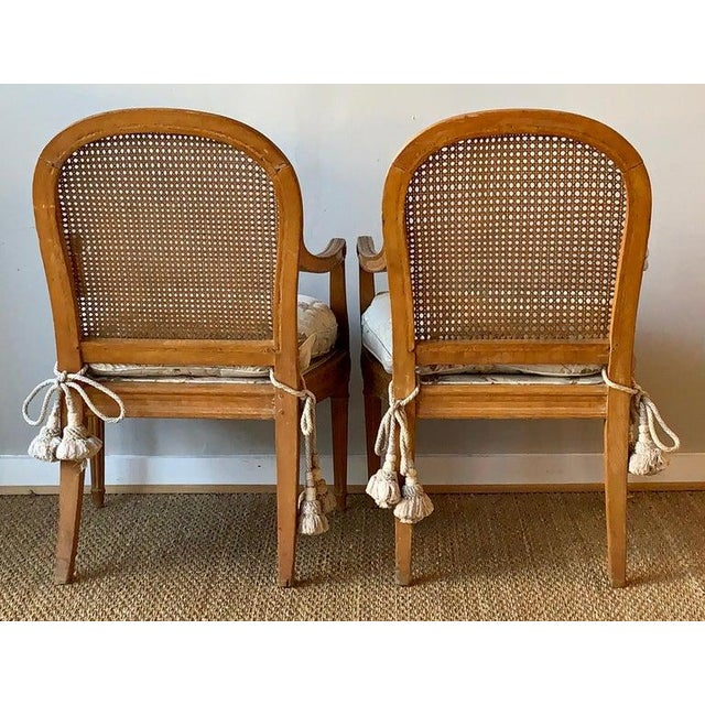 Pair of 19th Century French Fauteuils For Sale - Image 4 of 10