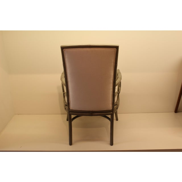 McGuire Laura Kirar Upholstered Arm Chair - Image 4 of 5