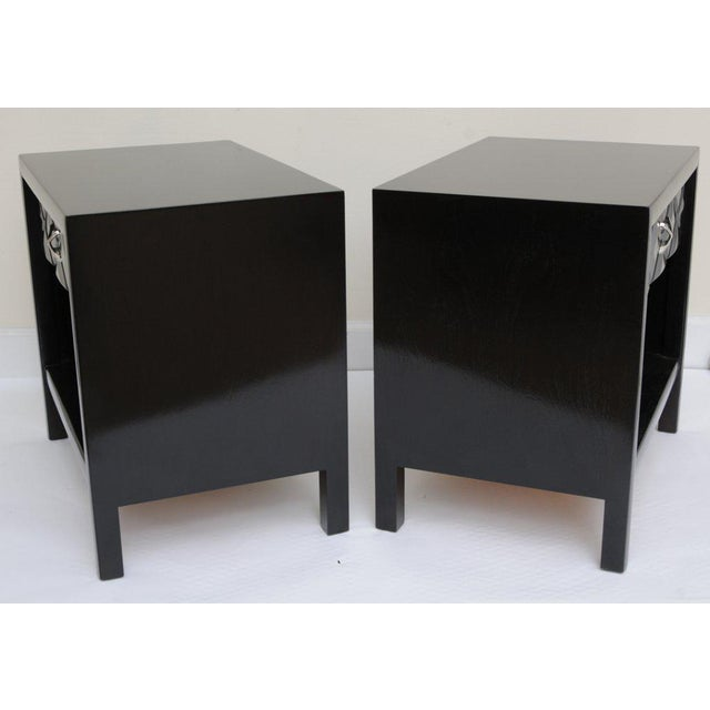 Mid-Century Modern Signed John Widdicomb Night Stands/End Tables - a Pair For Sale In Miami - Image 6 of 11