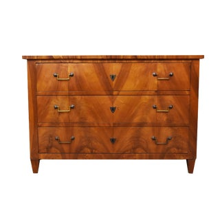 19th Century Louis XVI Style Walnut Commode For Sale