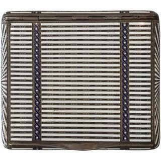 Aage Hjalmer Steenberg Sterling Silver Case, Denmark, 1934 - 50th Anniversary Sale For Sale