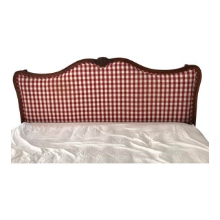 Vintage Calico Corners Custom French Country Style King Size Headboard