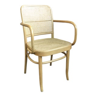 Vintage Josef Hoffmann Style Bentwood Prague Chair For Sale