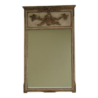 Vintage Friedman Brothers French Style Paint Decorated Mirror For Sale
