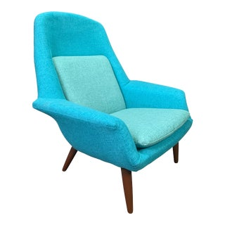 Vintage Scandinavian Mid Century Modern Lounge Chair by Broderna Anderssons For Sale