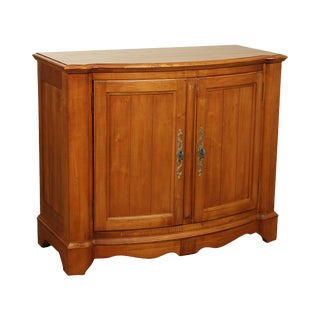 """Ethan Allen """"Legacy"""" Collection French Country Style 2 Door Server Console For Sale"""