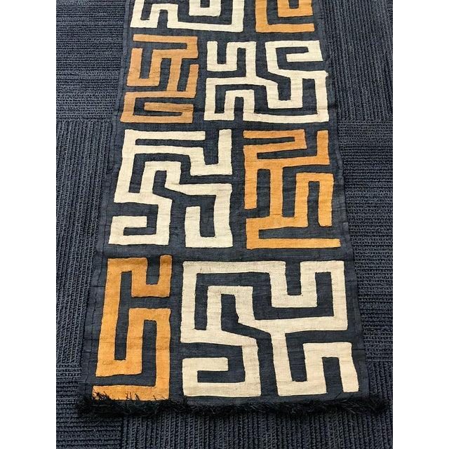 Fabric African Art Handwoven Kuba Cloth For Sale - Image 7 of 10