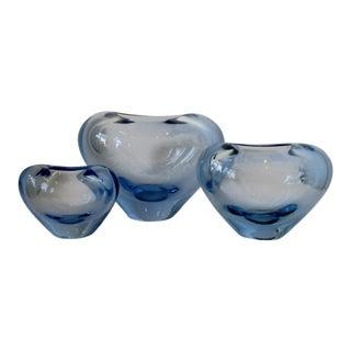Per Lütken Minuet Glass Vases, Set of 3 For Sale