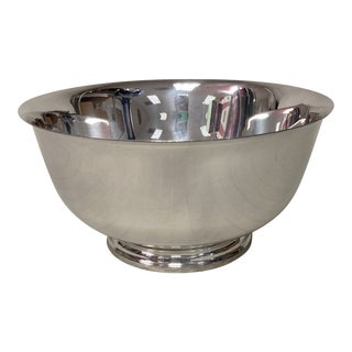 """Tiffany & Co. 7"""" Revere Sterling Silver Bowl For Sale"""