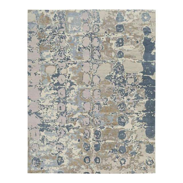 Contemporary Earth Elements - Customizable Azura Rug (4x6) For Sale - Image 3 of 3