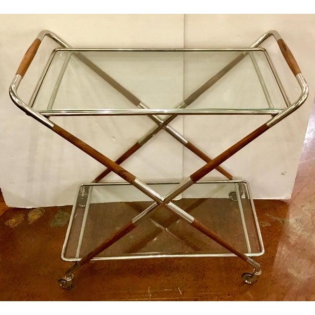 Arteriors Jevon Bar Cart For Sale In Atlanta - Image 6 of 8