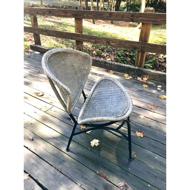 Mid-Century Modern Mid Century Modern Salterini Clam Shell Chair For Sale - Image 3 of 10