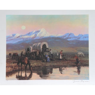 Duane Bryers, Overnight Stop, Lithograph For Sale