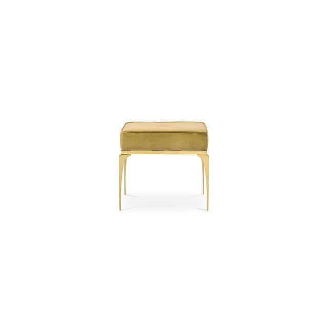 Mid-Century Modern Rita Stool From Covet Paris For Sale - Image 3 of 13