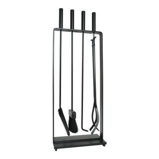 Pilgrim Fireplace Tool Set With Stand For Sale