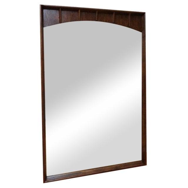 Kent Coffey Mid-Century Walnut Mirror - Image 1 of 5