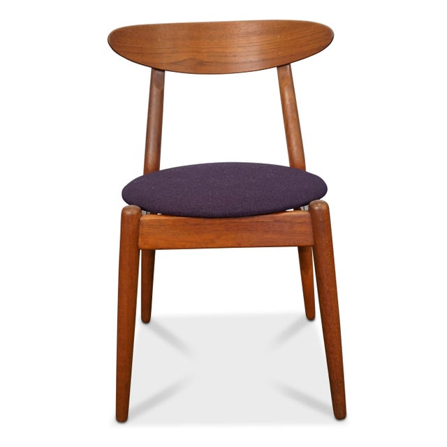 "Designer: Vilhelm Wohlert Producer: P. Jeppesen Model: Louisiana Chair Time Period: 1950´s Dimensions: 29.5"" high, 20""..."