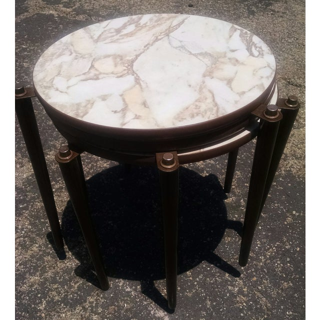 Vintage Mid-Century Nesting Tables - Set of 3 - Image 5 of 8