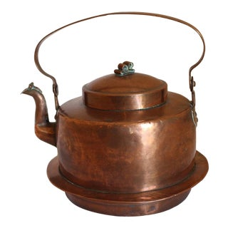 Large Copper Tea Kettle For Sale