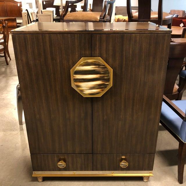 New Henredon Barclay Street Bar Cabinet For Sale - Image 13 of 13