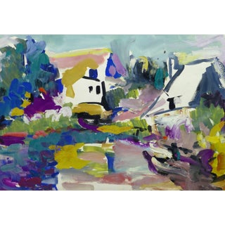 Pm Duclos, Modern French Landscape For Sale