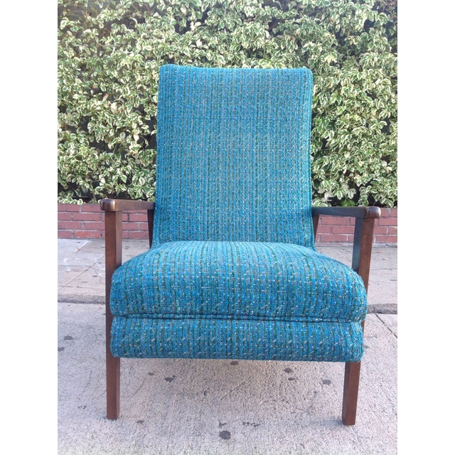 Mid-Century Modern Recliner Lounge Chair For Sale - Image 4 of 6