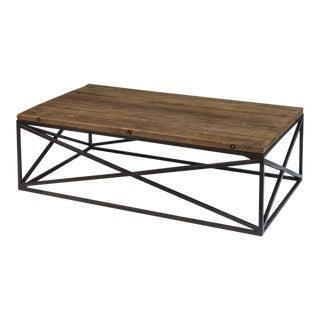Sarreid Ltd Dockworker Board Coffee Table