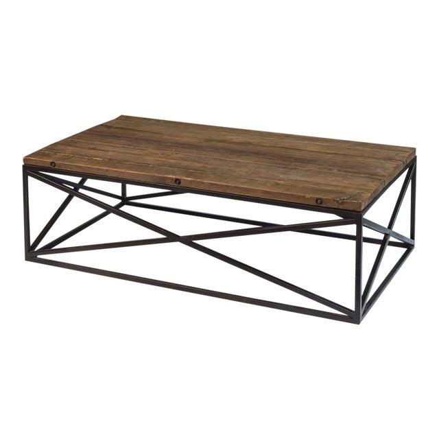 Sarreid Ltd Dockworker Board Coffee Table For Sale