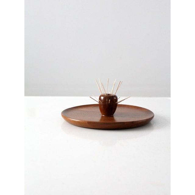 Mid-Century Walnut Serving Tray - Image 3 of 8