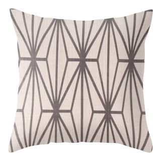 Katana Pillow Cover in Ebony Ivory For Sale