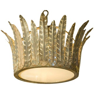 "Customizable ""Fairfield"" Crown Light For Sale"