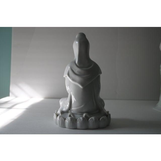 Blanc De Chine Goddess Statue - Image 4 of 6