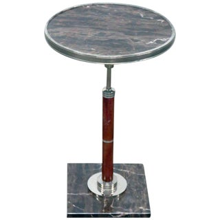 Art Deco Style Pedestal Table For Sale