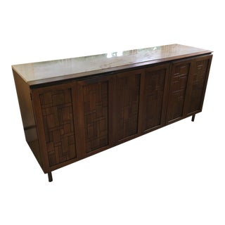 Mid-Century Modern Johnson Furniture Walnut Buffet