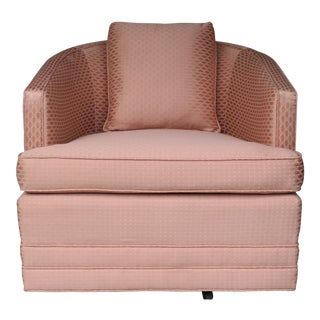 Swivel Lounge Chair By Century Furniture For Sale