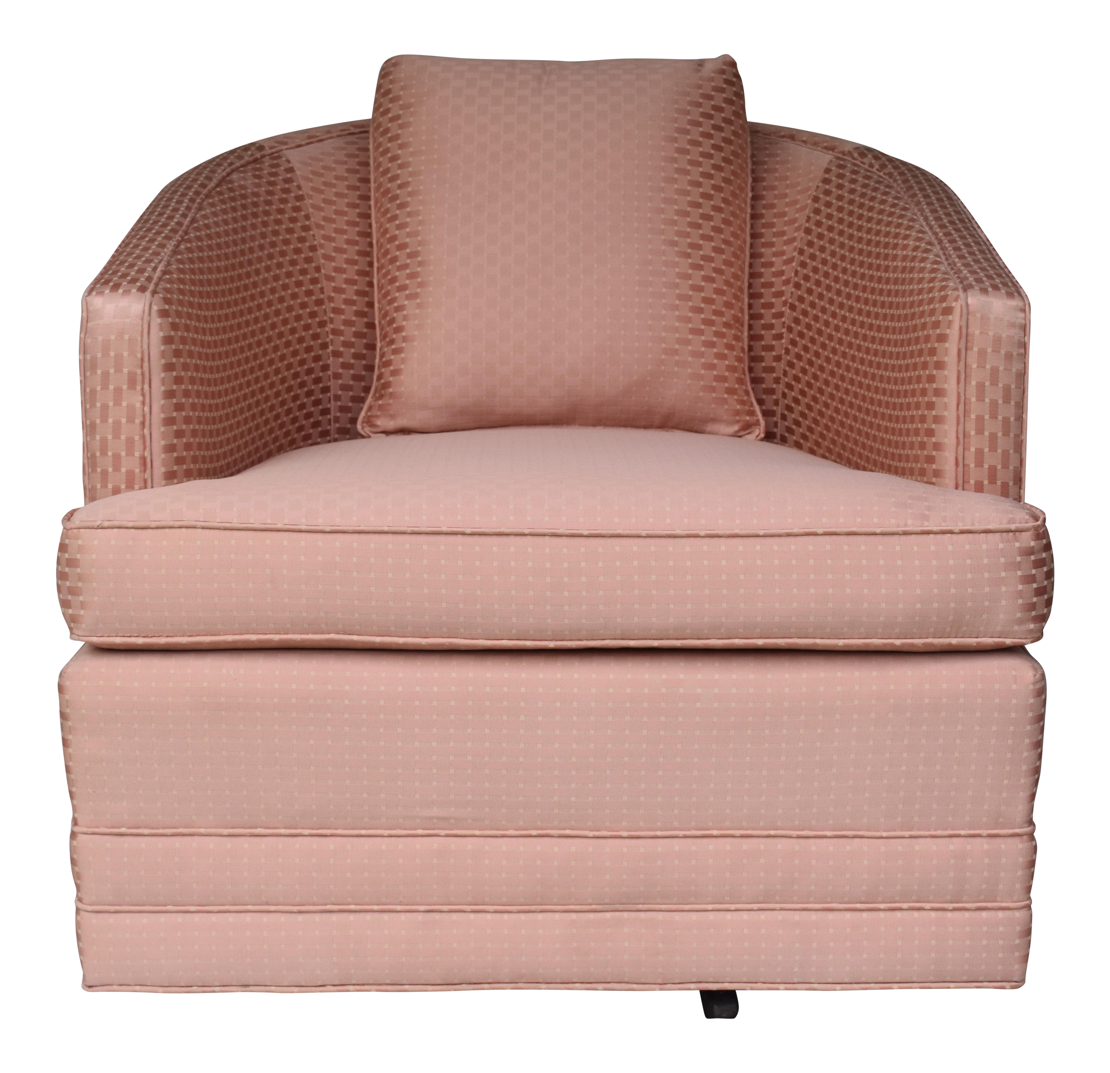 Swivel Lounge Chair By Century Furniture