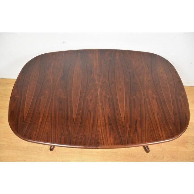 Danish Rosewood Dining Table - Image 11 of 11