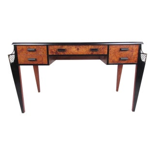 Vintage Regency Style Writing Desk in the Style of Émile-Jacques Ruhlmann For Sale