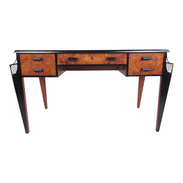 Vintage Regency Style Writing Desk In The Of Émile Jacques Ruhlmann