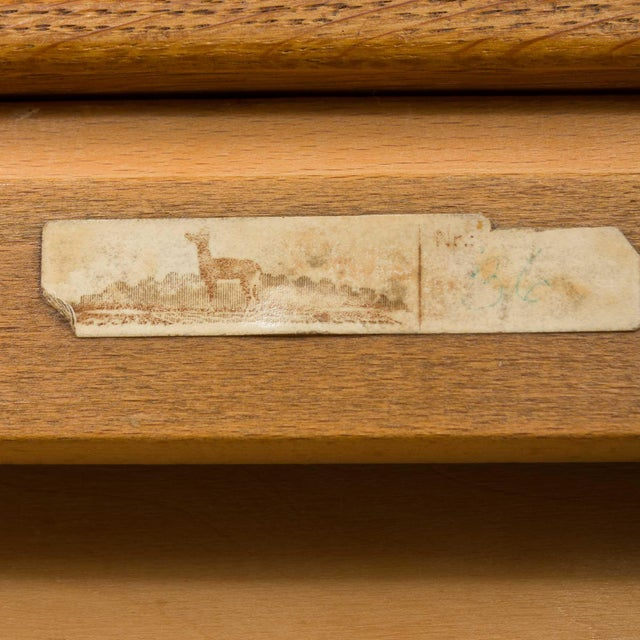 Mid-Century Modern Severin Hansen Oak Writing Desk For Sale - Image 11 of 12