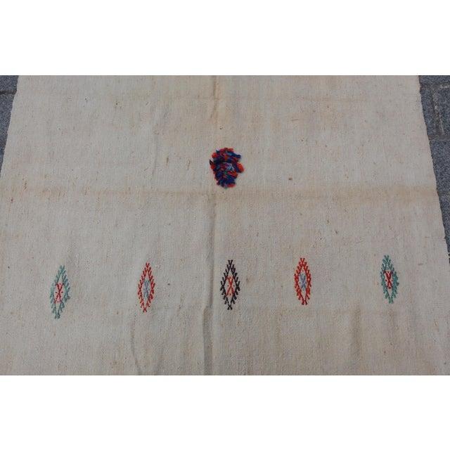 Anatolian Turkish Kilim - 10'11'' x 3'8'' - Image 6 of 11