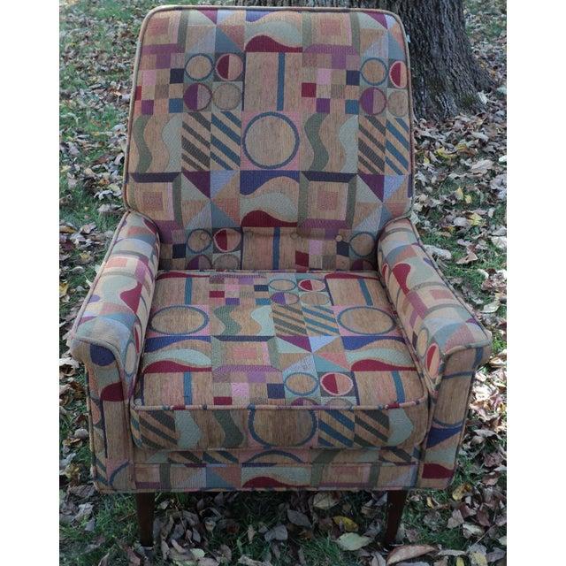 Mid-Century Modern Lounge Club Chair - Image 7 of 9