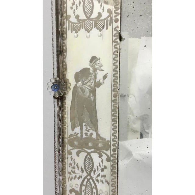 19th Century Antique Italian Venetian Mirror For Sale In Providence - Image 6 of 12