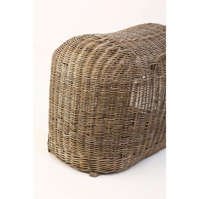 Wicker English Wicker Dog Kennel For Sale - Image 7 of 13