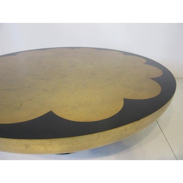 Kittinger Kittinger Asian Regency Styled Lotus Coffee Table For Sale - Image 4 of 9