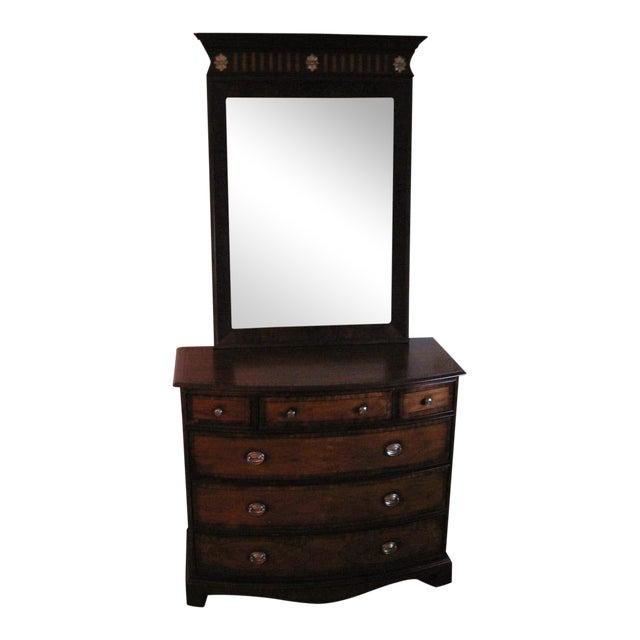 Ethan Allen Dresser with Mirror - Image 1 of 12