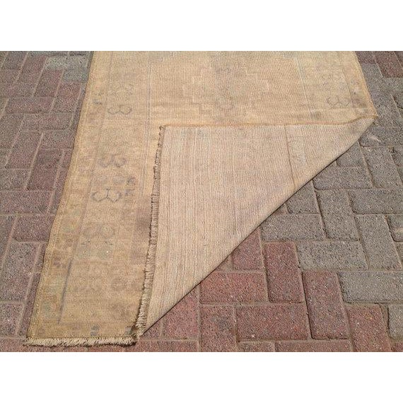 """Vintage Anatolian Rug - 3'11"""" x 5'10"""" For Sale In Raleigh - Image 6 of 6"""