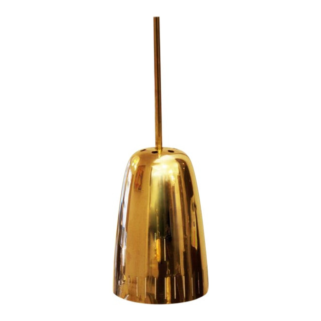 Mid-Century Brass Hanging Lamp from Kalmar Vienna For Sale