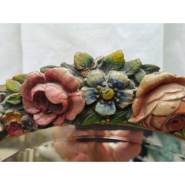 Rose Garland Barbola Mirror - Image 7 of 7